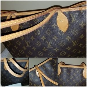 Louis Vuitton Bags - LV neverfull MM authentic